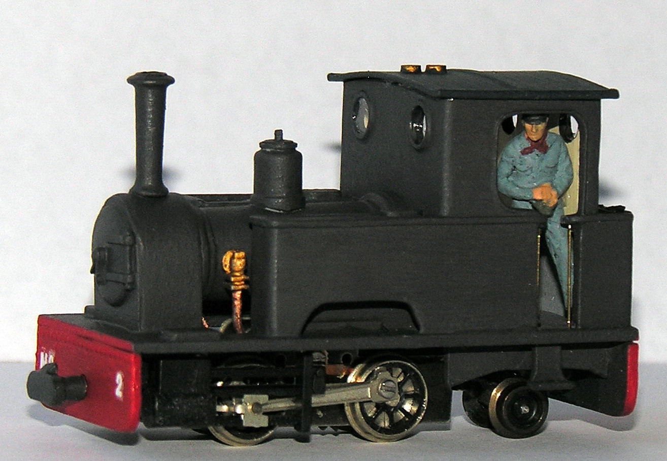 Chivers Skylark on a LWB 0-4-0 by Patrick Collins