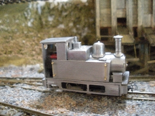 Varikit on a SWB 0-4-0 by Graham Groves